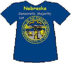 Nebraska 1st Cenocratic Majority (11K)
