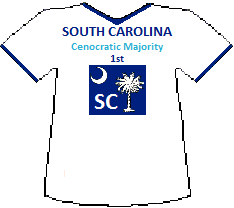 South Carolina 1st Cenocratic Majority (6K)