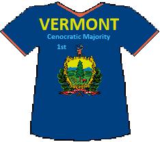 Vermont 1st Cenocratic Majority (8K)