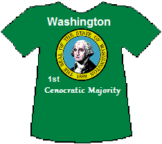 Washinton 1st Cenocratic Majority (9K)