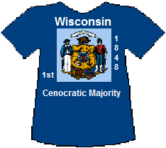 Wisconsin 1st Cenocratic Majority (9K)