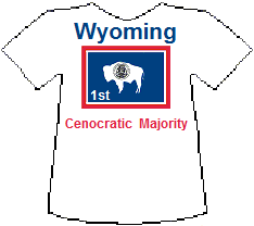 Wyoming 1st Cenocratic Majority (6K)